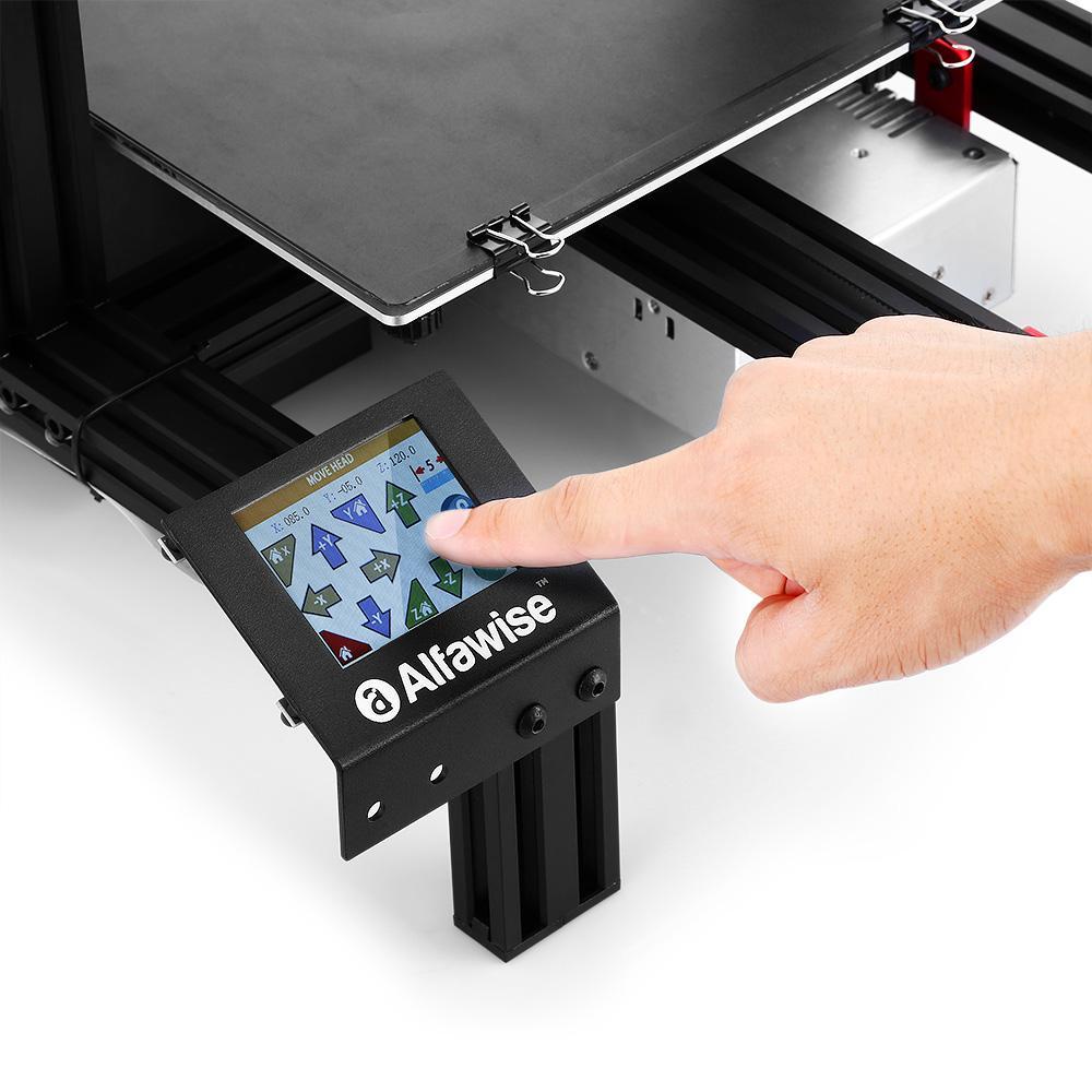 L'entreprise Alfawise nous propose l'Alfawise U30. Une imprimante 3D, efficace et abordable, mais pas forcément pour les débutants.