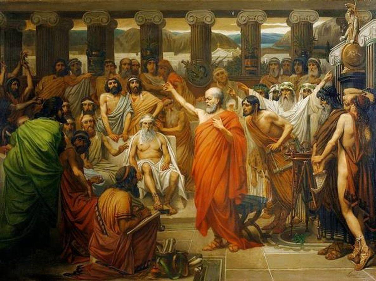 On considère Socrate comme le fondateur de la philosophie occidentale. Mais au delà de l'aspect d'un homme modeste et peu éduqué, on a un Socrate bien plus aristocratique qui émerge si on lit les déclarations d'Aristote.