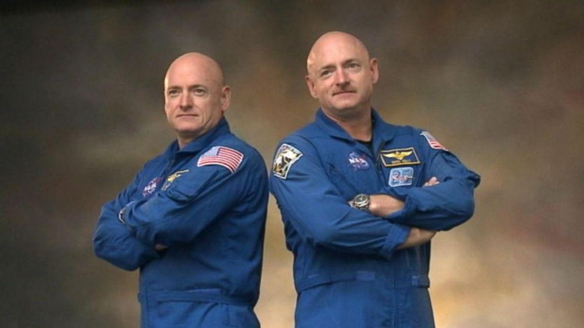 Astronautes jumeaux  - Scott Kelly, un astronaute, a passé 1 an dans l'espace tandis que son frère jumeau est resté sur Terre. Il n'y a pas de changements notables sur l'ADN entre les deux.