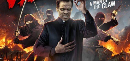 Oubliez Avengers : Engdame. Nous avons le film de 2019 avec Velocipastor. Un prêtre peut se transformer en dinosaure pour combattre des ninjas.
