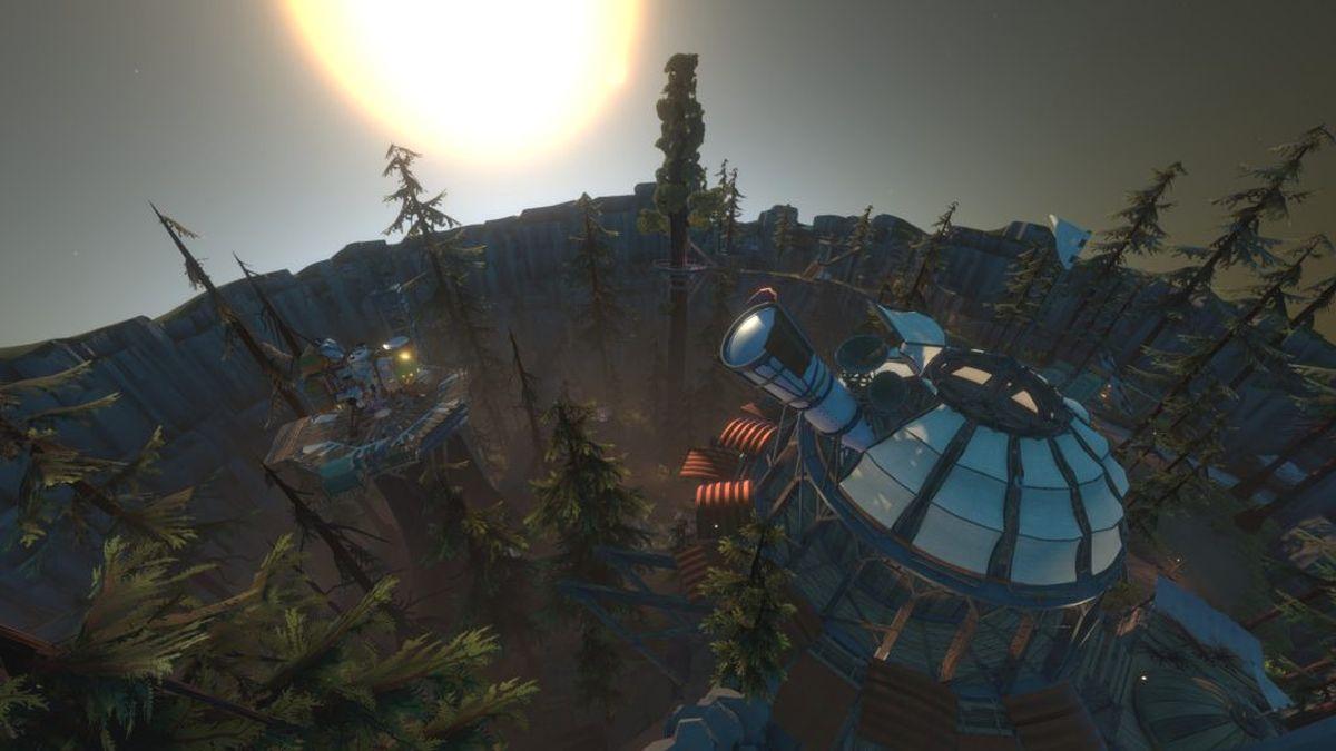 Quand on joue à Outer Wilds, on est contemplatif à souhait. Une aventure d'exploration spatiale magnifique qui ne se termine jamais.