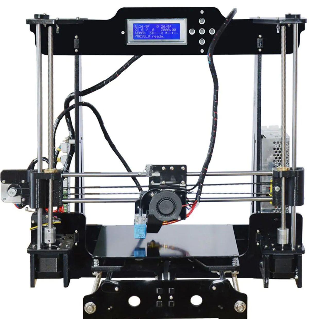 La Tronxy P802MA fait partie des imprimantes 3D à moins de 150 euros