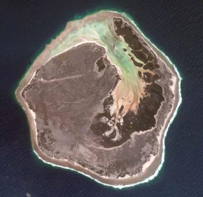Europa dans les îles Éparses - Crédit : TAAF