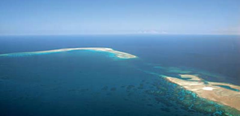 Geyser dans Juan de Nova dans les îles Éparses - Crédit : Grilhe