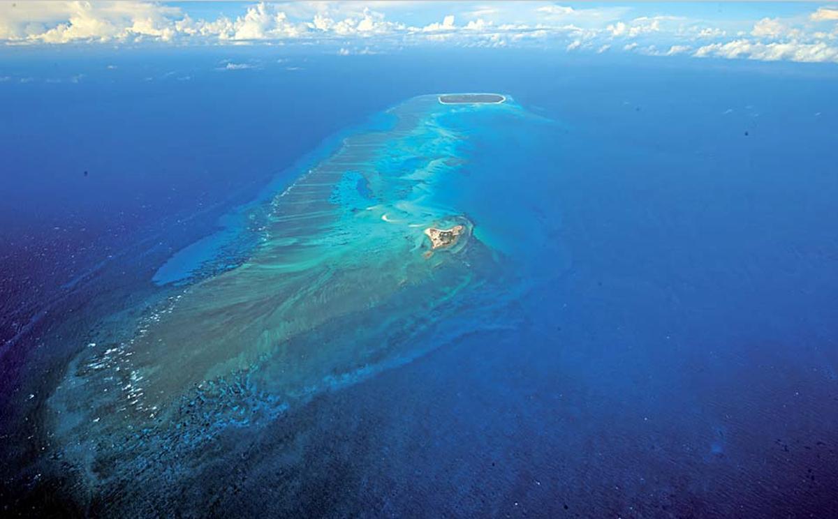 Les Glorieuses dans les îles Éparses - Crédit : Gelabert 2008