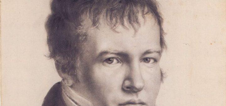 Alexander von Humboldt dans son propre autoportrait