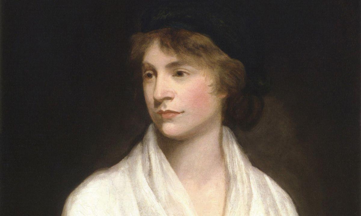 Mary Wollstonecraft (c1797) par John Opie - Crédit : Wikipédia
