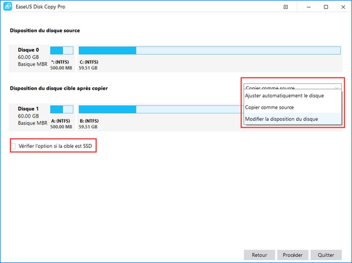 Avec EaseUS Disk Copy Pro, le clonage de disque devient d'une simplicité déconcertante. Changez de disque dur en quelques clics. Démonstration.