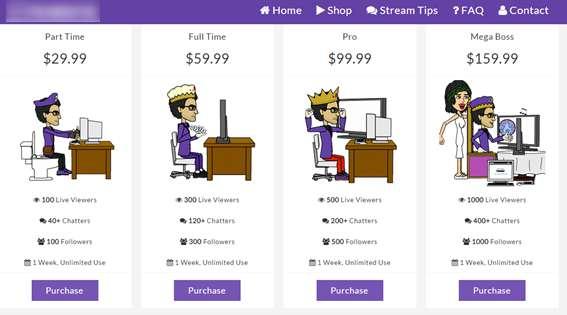 Des botnets visent Twitch pour gonfler le nombre de vues des Streamers