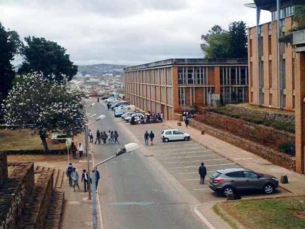Grève à l'université d'Antananarivo