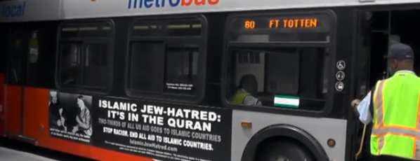 Islamophobie : Des bus à Philadelphie affichent des pubs anti-musulmanes
