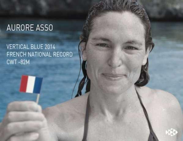 Une Française bat le record d'apnée sous glace