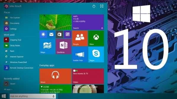 Windows 10 possède déjà quasiment 4 millions d'utilisateurs
