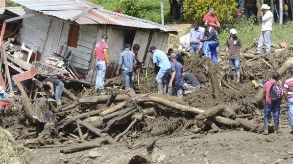 Colombie: un glissement de terrain a fait au moins une soixantaine de morts