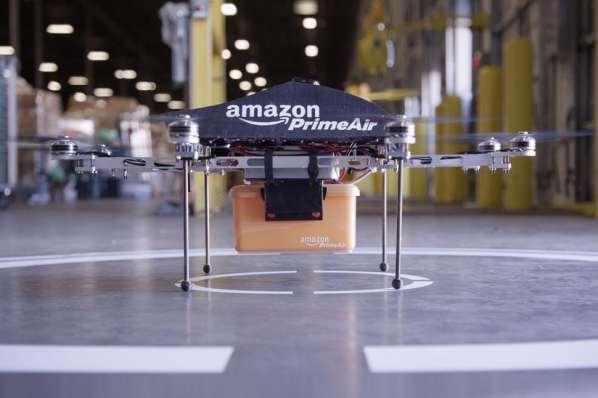 Les drones d'Amazon vont vous traquer avec votre Smarpthone