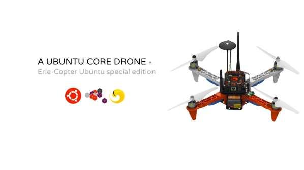 Découvrez le premier drone sous Ubuntu