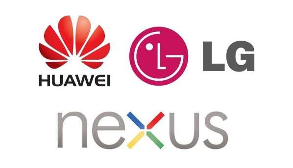 Google pourrait lancer 2 Nexus en 2015 avec LG et Huawei