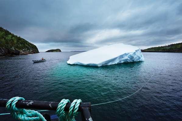 Envie d'un morceau d'iceberg vieux de 12000 ans dans votre Vodka ?