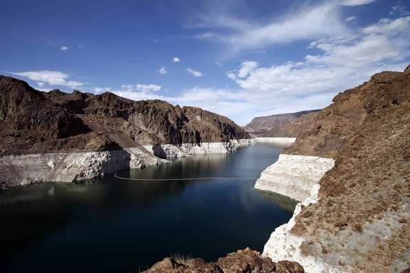 Le lac Mead est touché par la pire sécheresse en 1200 ans