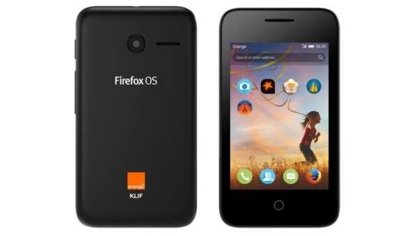 Orange Klif : Le téléphone sous Firefox OS destiné à l'Afrique