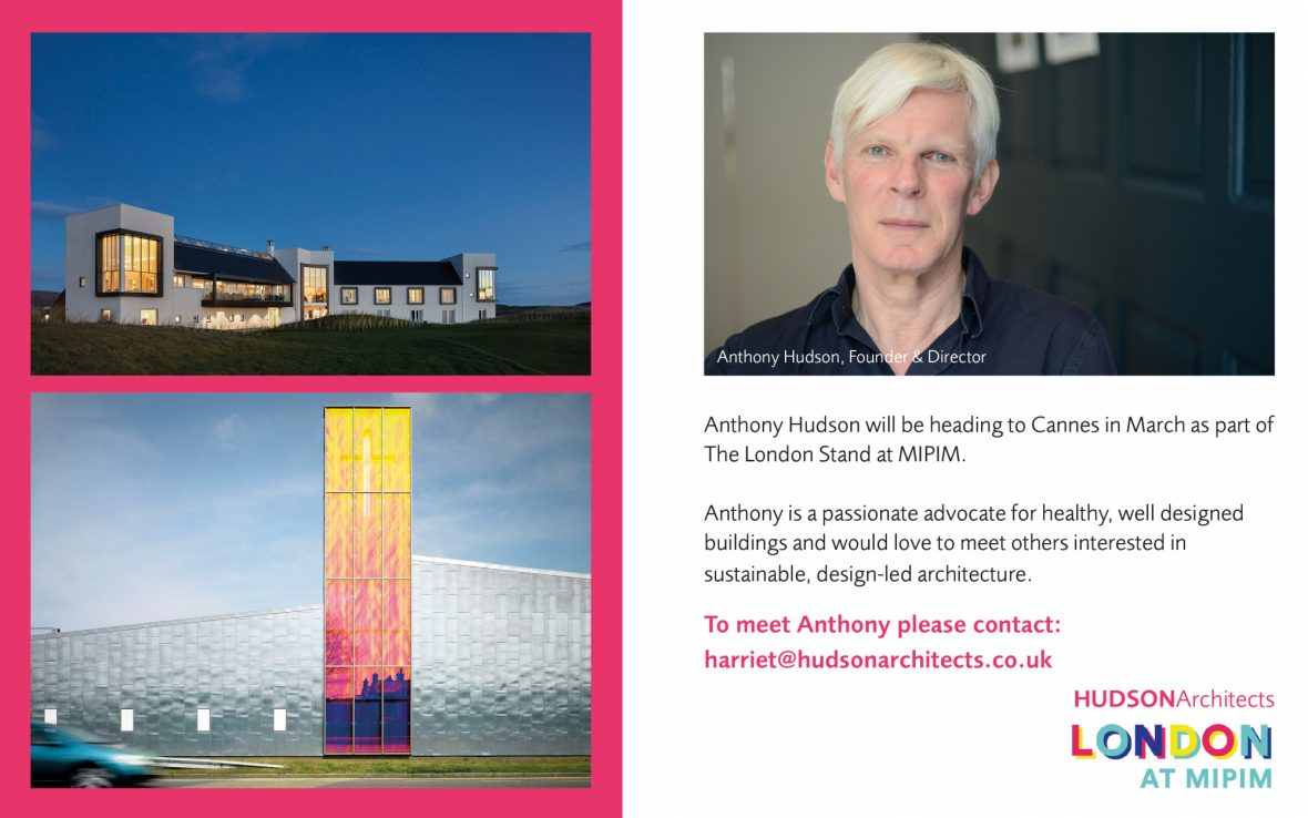Anthony will be at MIPIM 2020!
