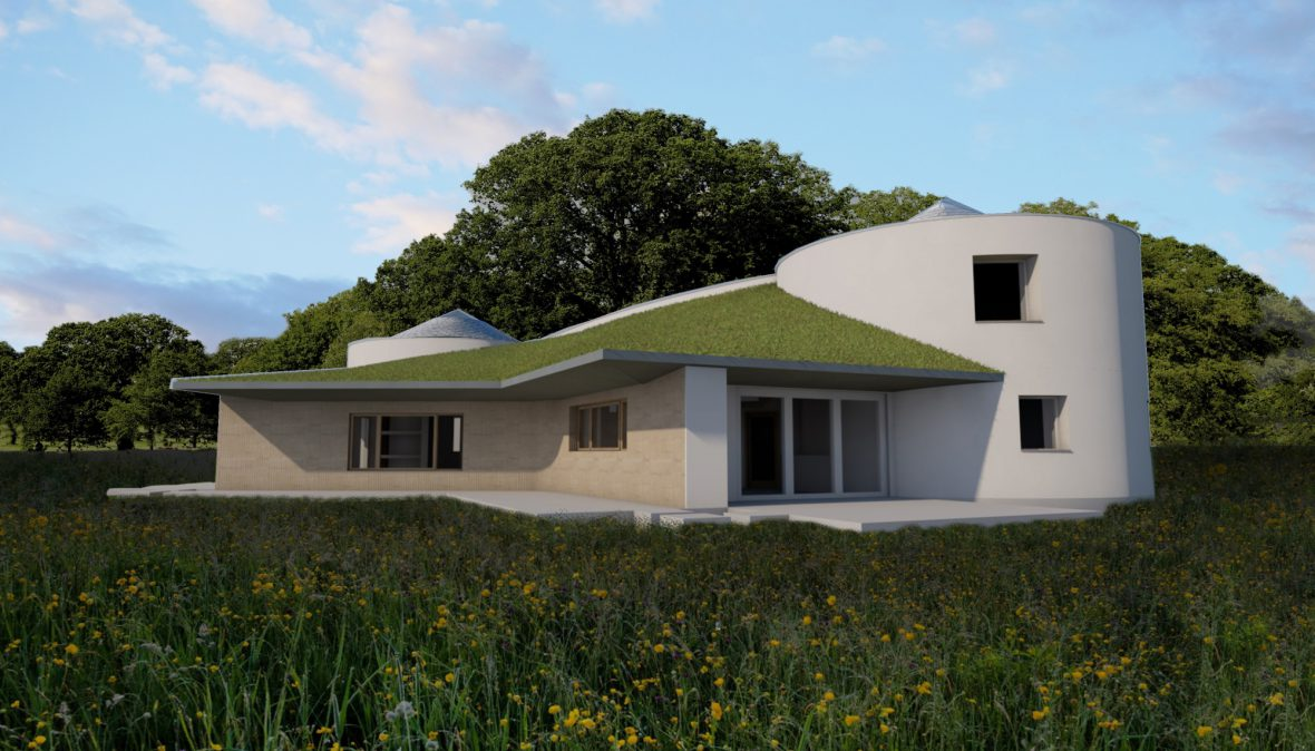 Our 'Earth House' in Norfolk gets planning permission