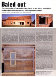 The Architects Journal / Quaker Barns