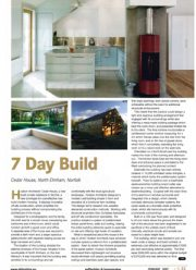 Self Builder & Homemaker / Cedar House