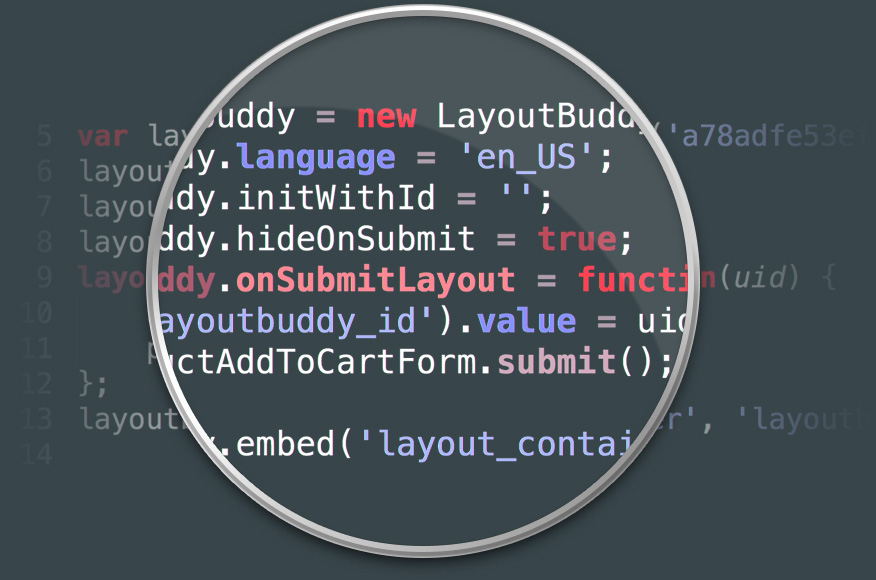 LayoutBuddy web to print integration