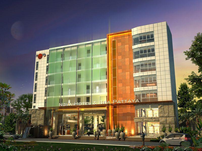 Отель Centara Nova Hotel Spa Pattaya, Centara Boutique Collection, Паттайя, Таиланд