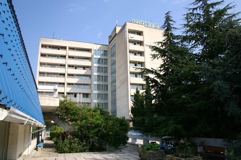 Отель Санаторий Голубая Волна, Алушта, Россия