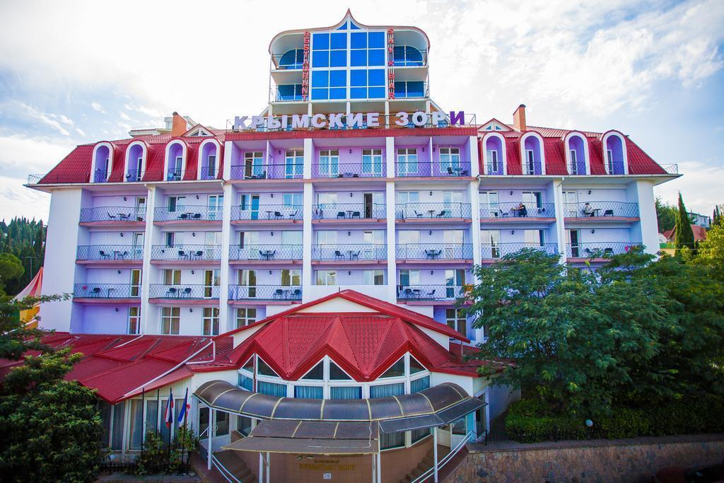 Отель Пансионат Крымские Зори, Алушта, Россия