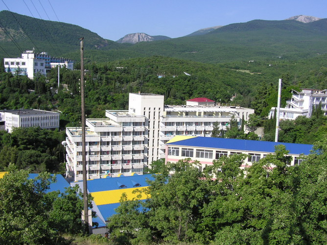 Отель Санаторий Киев, Алушта, Россия