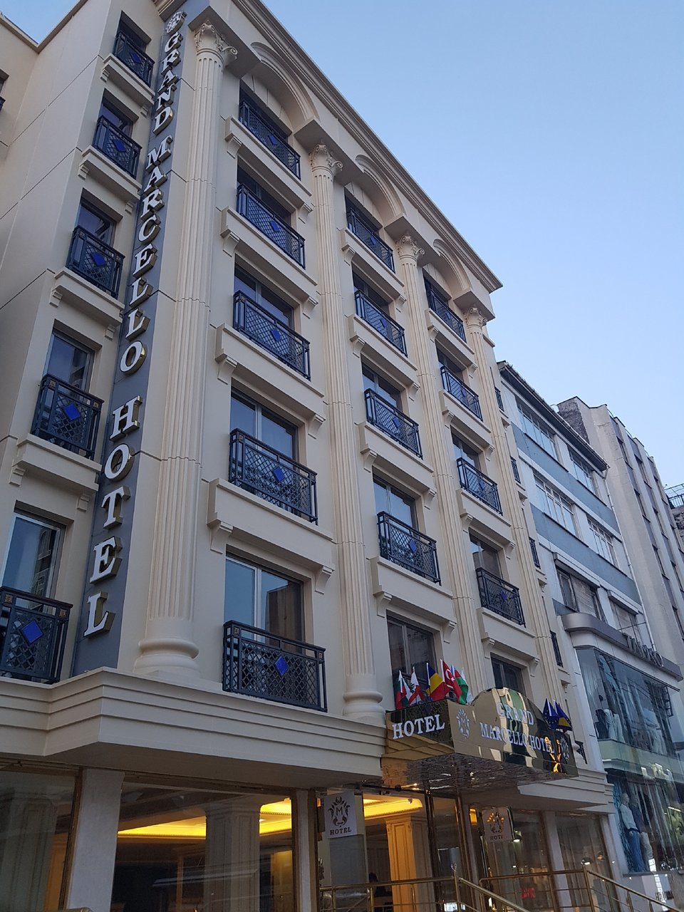 Отель Grand Marcello Hotel, Стамбул, Турция