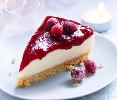 Dessert Recipes Easy Cheesecake Recipe Christmas Cranberry