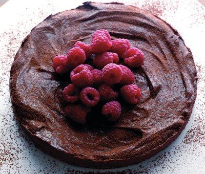 Chocolate Torte, Recipes For Cakes - Decadent Chocolate & Raspberry ...