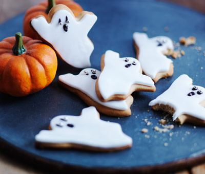 Halloween Ghost Biscuits