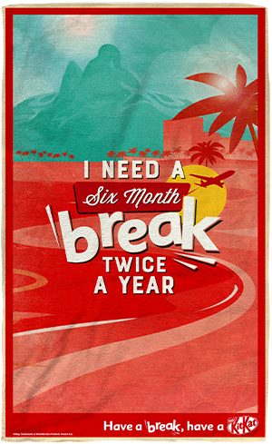 Relaxing break beach towel