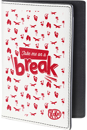 Break ready passport cover