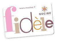 Avis Carte de fidélité Nocibé - monaviscompte