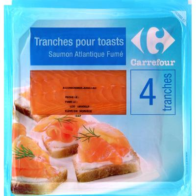Avis carrefour saumon de norv ge fum pour toast et - Prix du saumon ...