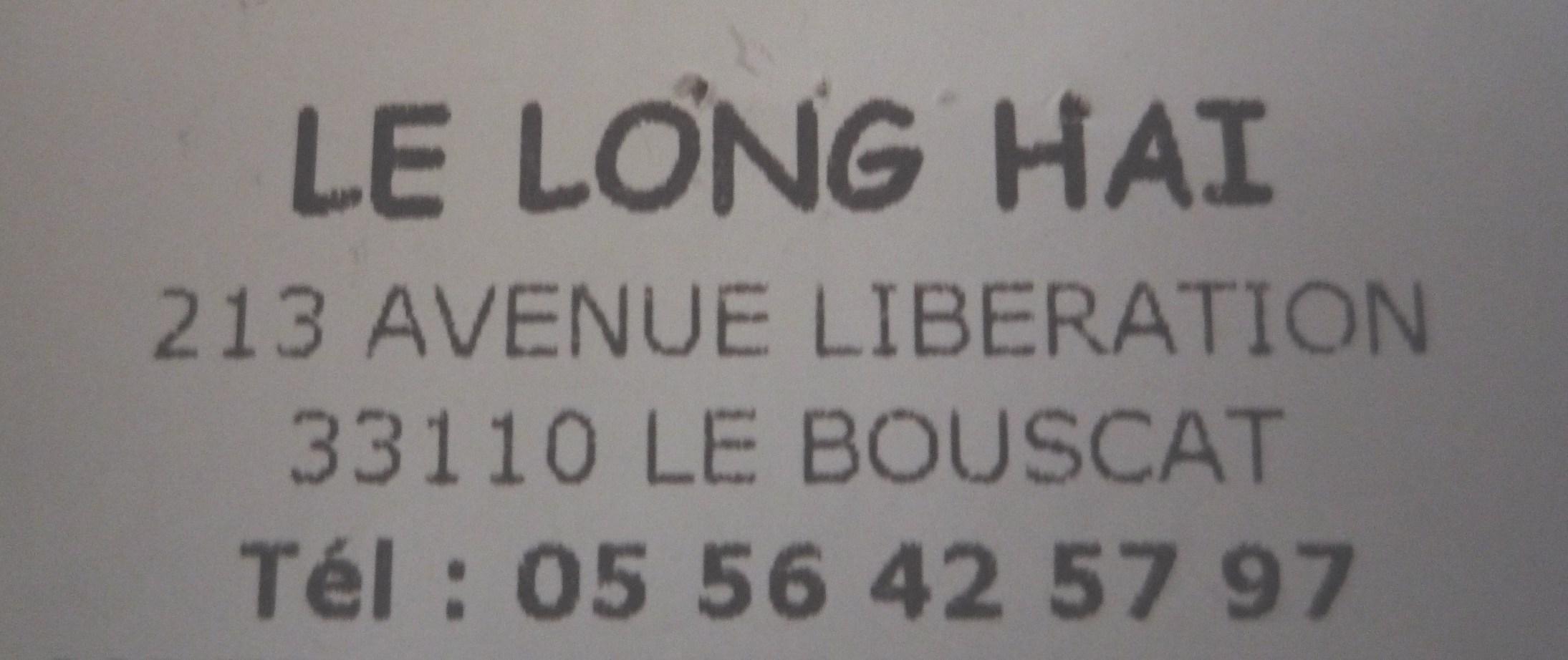 Restaurant Le Long Hai