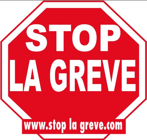 STOP LA GREVE