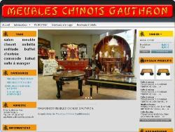 Meubles Chinois GAUTHRON