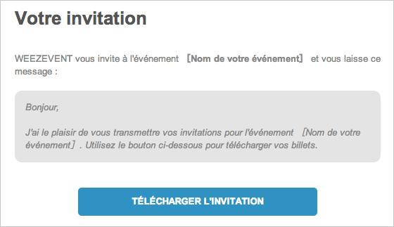 Envoyer Des Invitations Pour Son 233 V 233 Nement Aide Weezevent