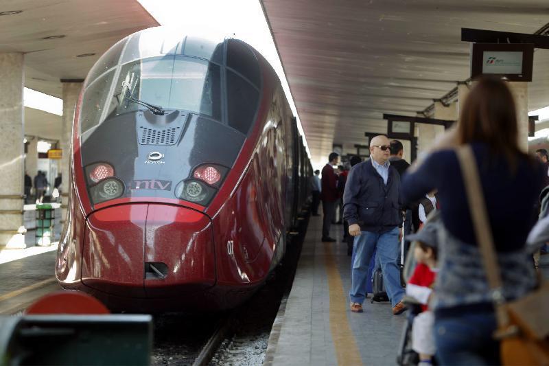 Alta velocità, arriva Italo a Santa Maria Novella