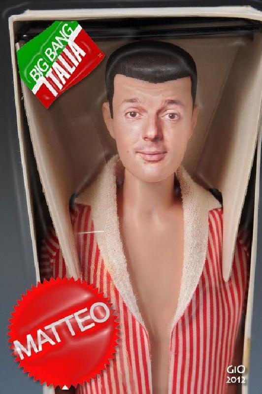 Ciao, sono Matteo Renzi, il nulla che avanza. Son tanto giovane che fo le primarie col camper di Big Jim.