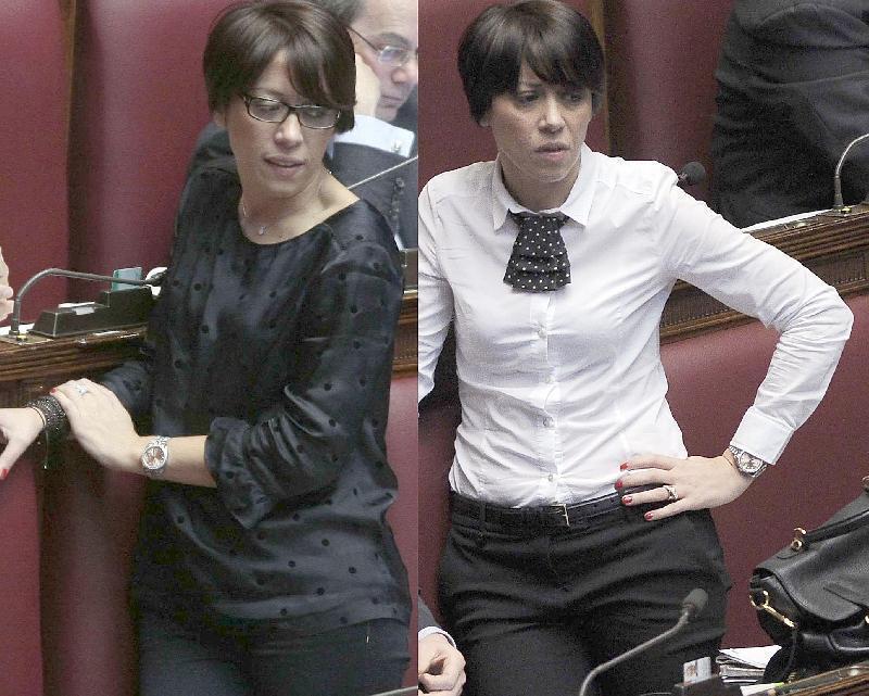 Parit di genere le 39 dame bianche 39 oggi si sono vestite for Deputate pd donne elenco
