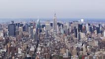 Manhattan, Empire State Building (Ansa)