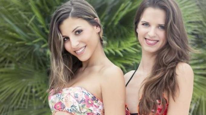Giulia e Giorgia, bellezze rodigine da calendario